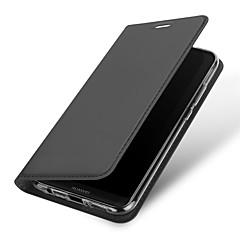 tanie Etui / Pokrowce do Huawei-Kılıf Na Huawei P20 lite P20 Etui na karty Z podpórką Pełne etui Jendolity kolor Twarde Skóra PU na Huawei P20 lite Huawei P20