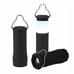 お買い得  ランタン&テント用ライト-Led Flashlight Lantern 2 In 1 ランタン&テントライト LED パータブル / 耐久性 キャンプ / ハイキング / ケイビング / 日常使用 ブラック / ブルー