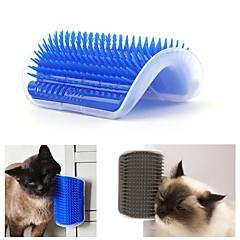 お買い得  犬用品&グルーミング用品-犬用 猫用 ブラシ ブラシ 簡単装着 カジュアル/普段着 ブルー