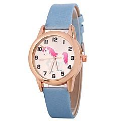 preiswerte Damenuhren-Xu™ Damen Quartz Armbanduhr Chinesisch Armbanduhren für den Alltag PU Band Kreativ Freizeit Schwarz Weiß Blau Braun Rosa Fuchsia