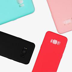 Χαμηλού Κόστους Galaxy S6 Θήκες / Καλύμματα-tok Για Samsung Galaxy S9 S9 Plus Παγωμένη Πίσω Κάλυμμα Συμπαγές Χρώμα Μαλακή TPU για S9 Plus S9 S8 Plus S8 S7 edge S7 S6 edge S6