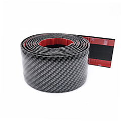cheap Car Stickers-1 m Car Threshold Bar for Car Door Combo Common Carbon Fiber For universal All years General Motors