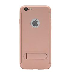 Недорогие Кейсы для iPhone 7 Plus-Кейс для Назначение Apple iPhone X iPhone 8 со стендом Матовое Чехол Однотонный Твердый ПК для iPhone X iPhone 8 Pluss iPhone 8 iPhone 7