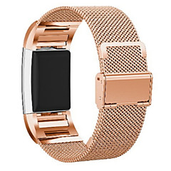 ieftine -Uita-Band pentru Fitbit Charge 2 Fitbit Curea Milaneza Oțel inoxidabil Curea de Încheietură