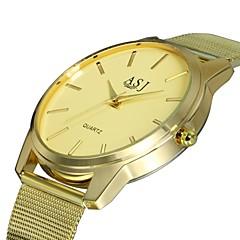 preiswerte Damenuhren-ASJ Damen Quartz Armbanduhr Chinesisch Armbanduhren für den Alltag Legierung Band Luxus Modisch Gold