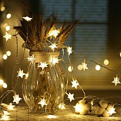 preiswerte LED Lichtstreifen-10m Leuchtgirlanden 100 LEDs LED Diode 1 bis 2 Kabelanschluss Warmes Weiß / Kühles Weiß / RGB Dekorativ / Verbindbar 220-240 V 1pc