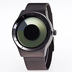 preiswerte Damenuhren-Herrn / Damen Armbanduhr Chinesisch Kreativ / Großes Ziffernblatt Legierung Band Freizeit / Modisch Schwarz