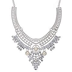 preiswerte Halsketten-Statement Ketten  -  Europäisch, Erklärung Gold, Silber 50 cm Modische Halsketten Für Party / Abend, Party