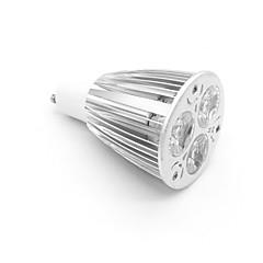 preiswerte LED-Birnen-800-900lm GU10 LED Spot Lampen MR16 3 LED-Perlen Hochleistungs - LED Warmes Weiß 85-265V