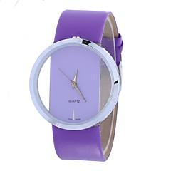 preiswerte Damenuhren-Xu™ Damen Quartz Armbanduhr Chinesisch Armbanduhren für den Alltag PU Band Kreativ Freizeit Schwarz Weiß Rot Braun Lila