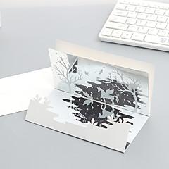 abordables Cuadernos y Notas-Tarjetas de Bienvenida Papel 2pcs 1pcs