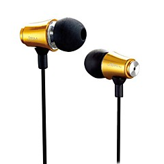 cheap Headsets & Headphones-MJ8500 In Ear Wired Headphones Earphone Copper Mobile Phone Earphone Headset