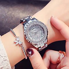 preiswerte Damenuhren-Damen Kleideruhr Armbanduhr Japanisch Quartz Silber / Gold / Rotgold 30 m Neues Design Armbanduhren für den Alltag Imitation Diamant Analog damas Modisch Elegant - Gold Silber Rotgold Zwei jahr
