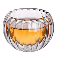 abordables Tazas y vasos-Vasos Vaso de boro alto Tazas de Té / Vidrio Termoaislante / Regalo novia / Adorable 6pcs