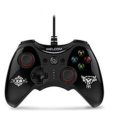 お買い得  ビデオゲーム用アクセサリー-WE-888S ケーブル ゲームコントローラ 用途 PC 、 バイブレーション ゲームコントローラ ABS 1 pcs 単位