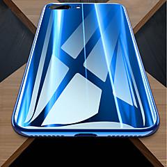 Недорогие Кейсы для iPhone X-Кейс для Назначение Apple iPhone X / iPhone 8 Защита от удара / Зеркальная поверхность Кейс на заднюю панель Однотонный Твердый