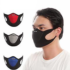 abordables Cagoules et masques-Máscara de protección contra la polución Verano A prueba de polvo / Transpirable Ciclismo / Bicicleta / Bicicleta / Trail Unisex Terciopelo / Licra Retazos