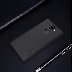 Недорогие Чехлы и кейсы для Nokia-Кейс для Назначение Nokia 8 Sirocco / Nokia 6 2018 Матовое Кейс на заднюю панель Однотонный Твердый ПК для 8 Sirocco / Nokia 7 Plus /
