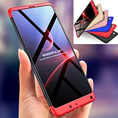 Недорогие Чехлы и кейсы для Xiaomi-Кейс для Назначение Xiaomi Xiaomi Mi Mix 2S Защита от удара Чехол Однотонный Твердый ПК для Xiaomi Mi Mix 2S