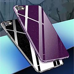 Недорогие Кейсы для iPhone 7-Кейс для Назначение Apple iPhone 8 / iPhone 8 Plus Сияние и блеск Кейс на заднюю панель Сияние и блеск Твердый ПК для iPhone X / iPhone 8 Pluss / iPhone 8