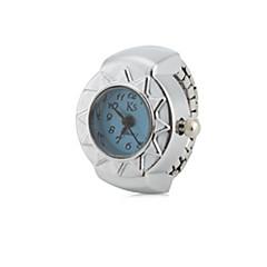 お買い得  レディース腕時計-女性用 リングウォッチ 日本産 クォーツ シルバー カジュアルウォッチ レディース ヴィンテージ - レッド ブルー ピンク