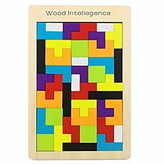 ieftine -Puzzle Lemn Creative / model geometric De lemn 42 pcs Preşcolar Toate Cadou