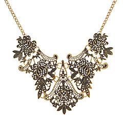 abordables Collares-Mujer Cadena gruesa Collar - Vintage, Europeo Cool Dorado, Plata 45+8.5 cm Gargantillas Joyas 1pc Para Fiesta de Noche