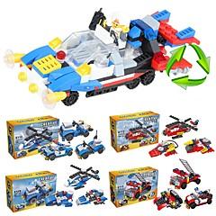 ieftine -Lego 204 pcs Vehicule Școală / Stres și anxietate relief / Jucarii de decompresie Vehicul Pompieri Cadou