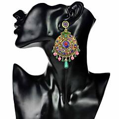 preiswerte Ohrringe-Damen Quaste Tropfen-Ohrringe - Blume Böhmische, Ethnisch Regenbogen Für Geschenk / Verabredung