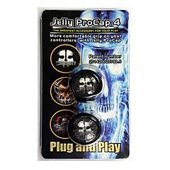 preiswerte Zubehör für Videospiele-Spiel-Controller Thumb Stick Griffe Für Sony PS3 / Xbox 360 / Xbox One . Spiel-Controller Thumb Stick Griffe Silikon 2 pcs Einheit