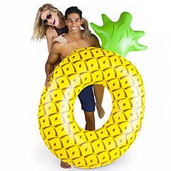 abordables Flotadores-Piña Colchonetas inflables para piscina PVC Duradero, Inflable Natación / Deportes acuáticos para Adultos 182*116*36 cm