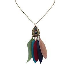 preiswerte Halsketten-Damen Anhängerketten - Stilvoll Regenbogen, Rot, Dunkelgrün 70 cm Modische Halsketten Schmuck 1pc Für Schultaschen, Geburtstag