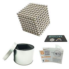 abordables Juguetes Magnéticos-512 pcs Juguetes Magnéticos Bolas magnéticas / Juguetes Magnéticos / Bloques de Construcción Magnética Alivio del estrés y la ansiedad / Juguetes de oficina / Alivia ADD, ADHD, Ansiedad, Autismo