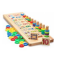 abordables Puzzles 3D-Puzzles de Madera Creativo / Educación De madera 86 pcs Preescolar Regalo
