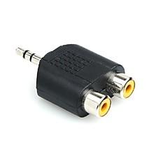 preiswerte Kabel & Adapter-Cinch-Stecker auf zwei Cinch-Buchse; y Splitter Audio-Adapter