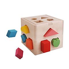 abordables Puzzles 3D-Puzzles de Madera Interacción padre-hijo De madera 14 pcs Preescolar Regalo