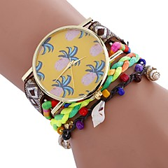preiswerte Damenuhren-Xu™ Damen Armband-Uhr / Armbanduhr Chinesisch Kreativ / Armbanduhren für den Alltag / bezaubernd PU Band Böhmische / Modisch Schwarz / Weiß / Blau / Großes Ziffernblatt / Ein Jahr