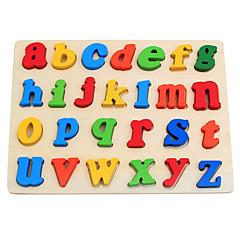 abordables Kid tablet-Juguete de Lectura Letra Interacción padre-hijo De madera Todo Bebé Regalo 1 pcs