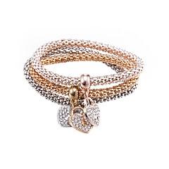 preiswerte Armbänder-Damen Armband - vergoldet Herz Modisch Armbänder Kaffee Für Geschenk / Alltag