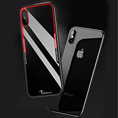 Недорогие Кейсы для iPhone-Кейс для Назначение Apple iPhone X / iPhone 8 Прозрачный Кейс на заднюю панель Однотонный Твердый Акрил для iPhone X / iPhone 8 Pluss / iPhone 8