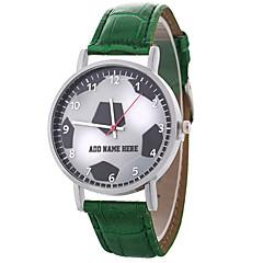 お買い得  レディース腕時計-女性用 リストウォッチ 中国 カジュアルウォッチ / かわいい PU バンド 花型 / 多色 ブラック / 白 / ブルー