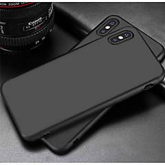 Недорогие Кейсы для iPhone 6-Кейс для Назначение Apple iPhone X / iPhone 8 Матовое Кейс на заднюю панель Однотонный Мягкий ТПУ для iPhone X / iPhone 8 Pluss / iPhone 8