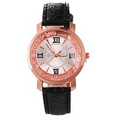 お買い得  レディース腕時計-Xu™ 女性用 ドレスウォッチ リストウォッチ クォーツ ブラック / 白 / レッド 新デザイン カジュアルウォッチ 模造ダイヤモンド ハンズ レディース カジュアル ファッション - レッド ブルー ピンク 1年間 電池寿命