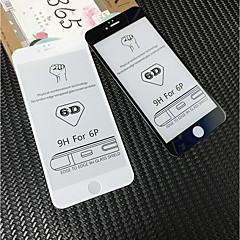 Недорогие Защитные пленки для iPhone 6s / 6 Plus-Защитная плёнка для экрана для Apple iPhone 6s Plus / iPhone 6 Plus Закаленное стекло 1 ед. Защитная пленка для экрана HD / Уровень защиты 9H / 3D закругленные углы