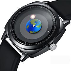 hesapli -Erkek Elbise Saat Bilek Saati Japonca Quartz Siyah 50 m Yaratıcı Havalı Analog Günlük Moda - Siyah Bir yıl Pil Ömrü / Paslanmaz Çelik