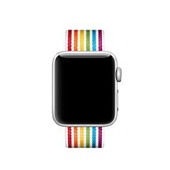 abordables Novedades-Ver Banda para Apple Watch Series 4/3/2/1 Apple Correa Deportiva Nailon Correa de Muñeca