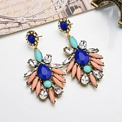 preiswerte Ohrringe-Damen Lang Tropfen-Ohrringe - Modisch, Süß Rot / Blau / Rosa Für Geschenk / Festtage
