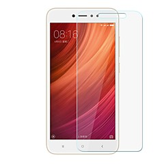 Недорогие Защитные плёнки для экранов Xiaomi-Защитная плёнка для экрана для XIAOMI Redmi Note 5A Закаленное стекло 1 ед. Защитная пленка для экрана Уровень защиты 9H / Защита от царапин
