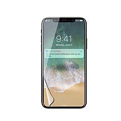 Недорогие Защитные пленки для iPhone X-Защитная плёнка для экрана для Apple iPhone X PET 1 ед. Защитная пленка для экрана HD / Ультратонкий
