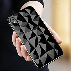 Недорогие Кейсы для iPhone 7 Plus-Кейс для Назначение Apple iPhone X / iPhone 8 Прозрачный Кейс на заднюю панель Геометрический рисунок Мягкий ТПУ для iPhone X / iPhone 8 Pluss / iPhone 8